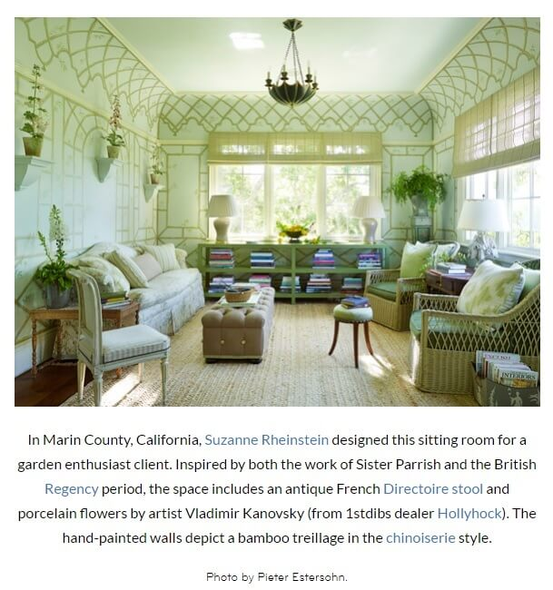 1st dibs blog 'sun drenched living rooms' image