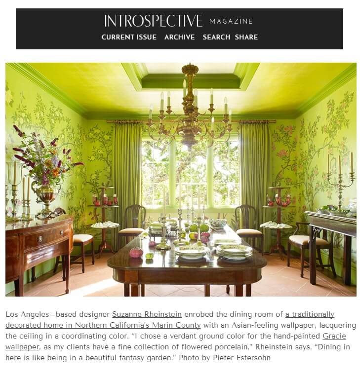 Introspective Magazine Chinoiserie feature image