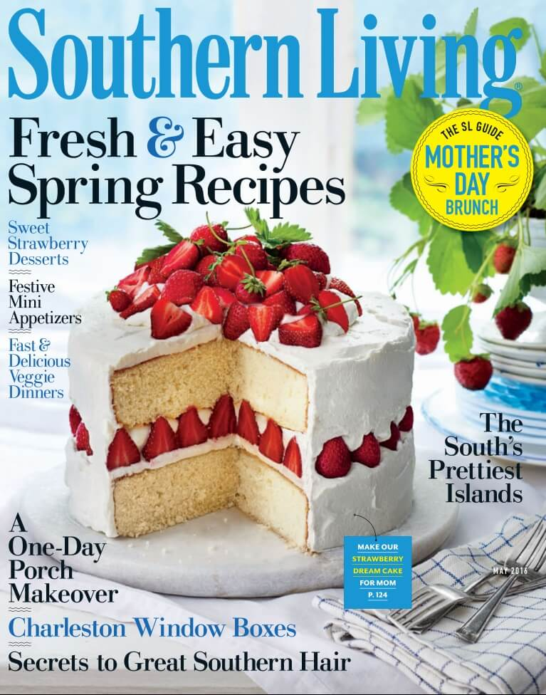 Southern Living May 2016 cover