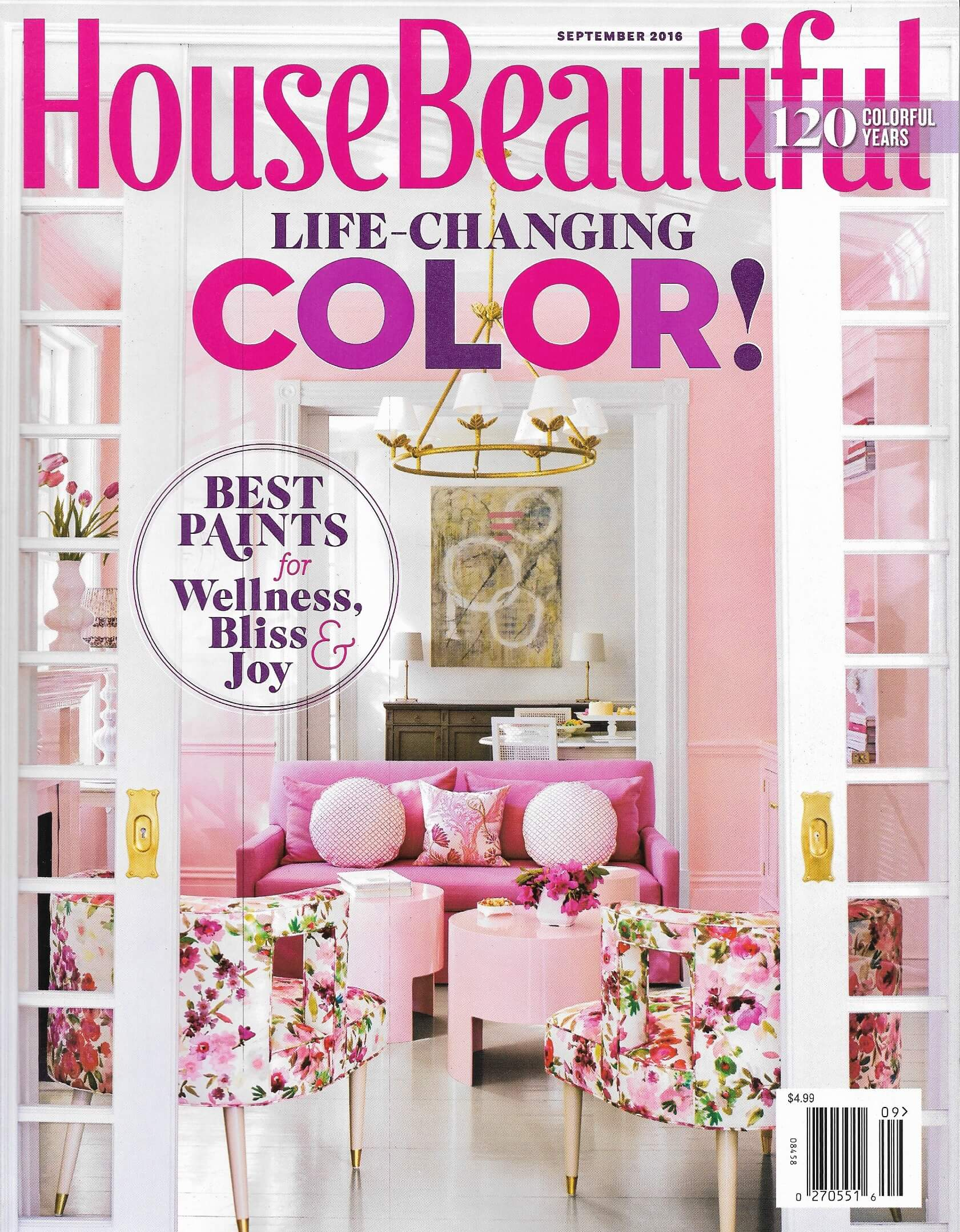 House Beautiful (Sept 2016) | Internationally recognized interior ...